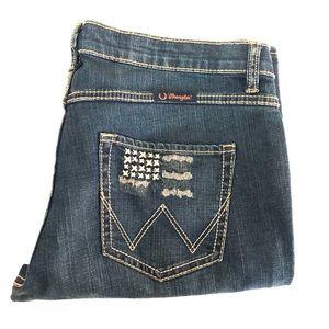 Wrangler Q-Baby WRQ20FL Women's Denim Jeans W11